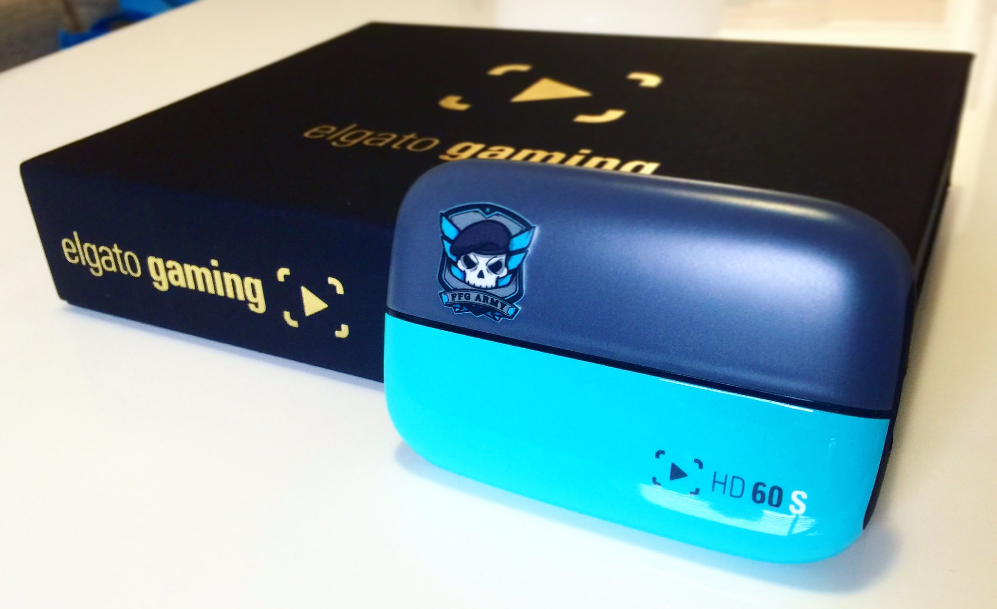 Representing the FFG Army on the @ElgatoGaming HD60S! 1 of 500 Day 0 Editions in the World 🌏😁 https://t.co/8IMDI7ATOC