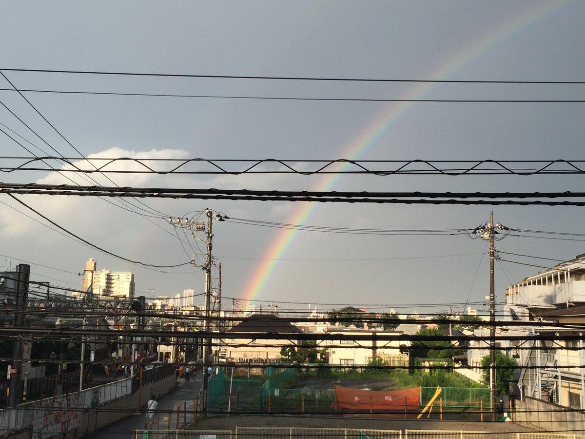下高井戸、虹