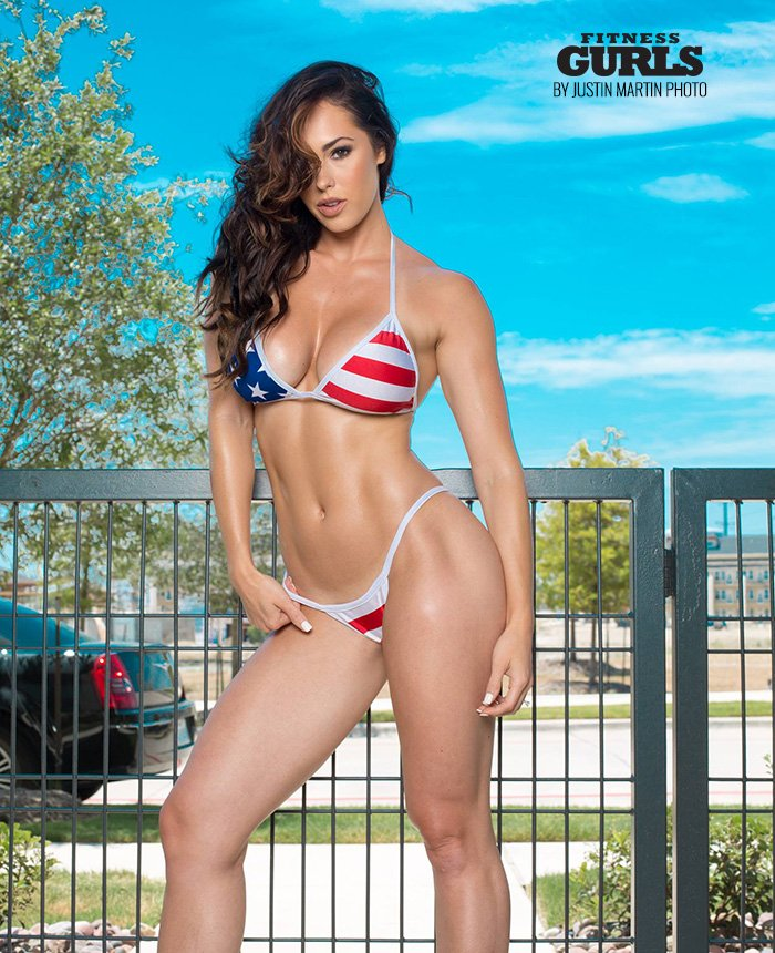 Check out Fitness Superstar @getfitwithhope in her special #4thofJuly feature at  - #HopeBeel