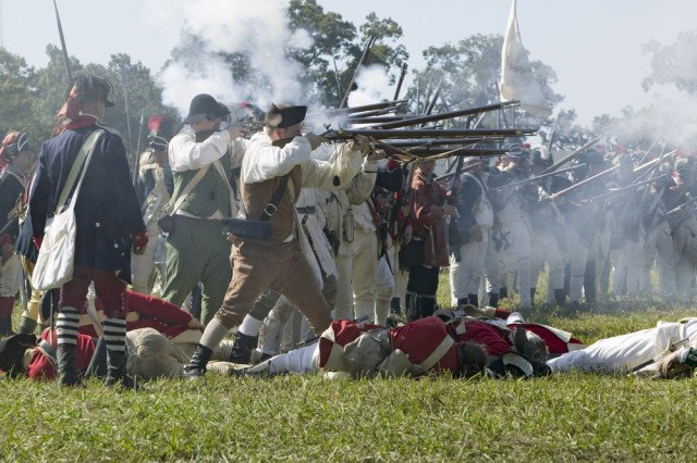 Top revolutionary War sites of the USA: ttot @NPS