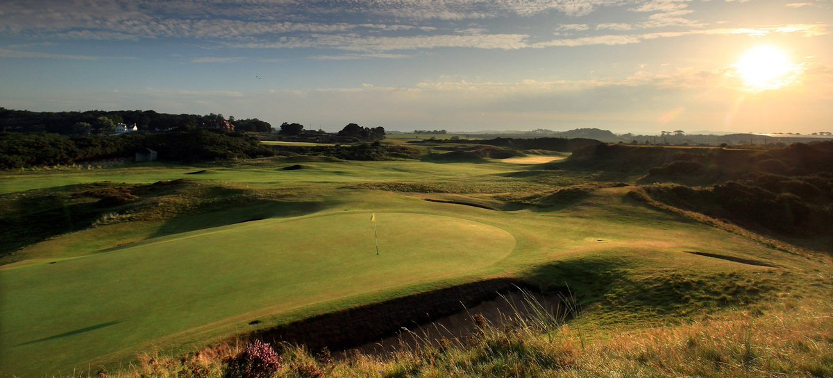 Fly to Glasgow for the 145th Open at @RoyalTroonGC from 10-17 July