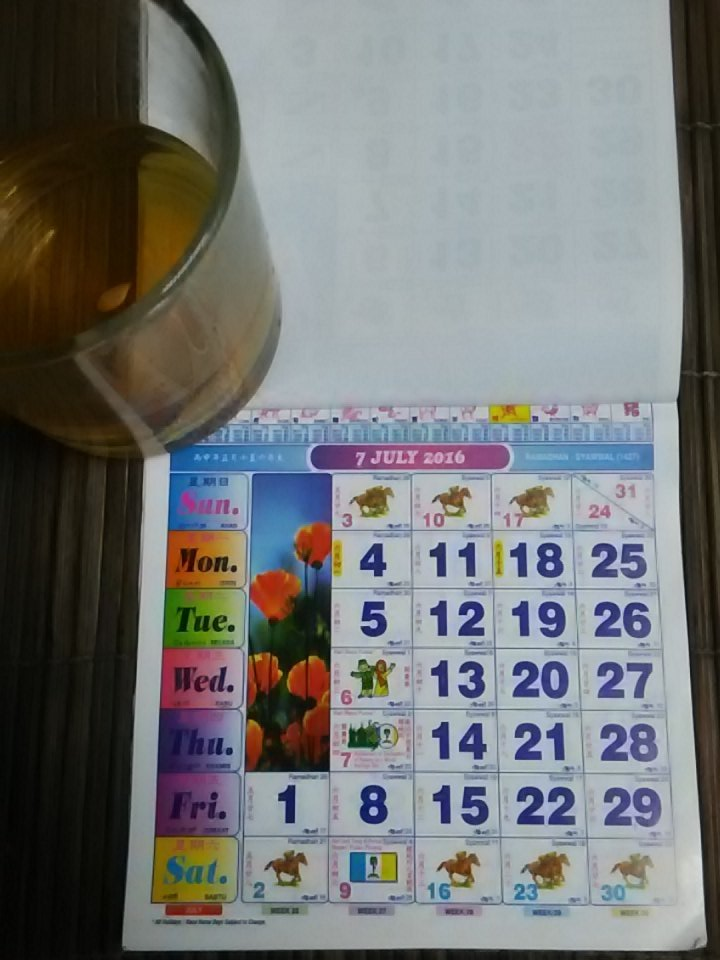 Calendar 'kuda' sudah cakap mah .. Lu olang raya Hali labu ma. https://t.co/pv8kcMhyFd