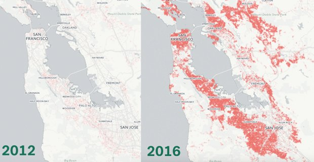 Mapping the incredible spread of million-dollar homes across San Francisco https://t.co/QF9CbEmTzK https://t.co/PN38WUdp9h