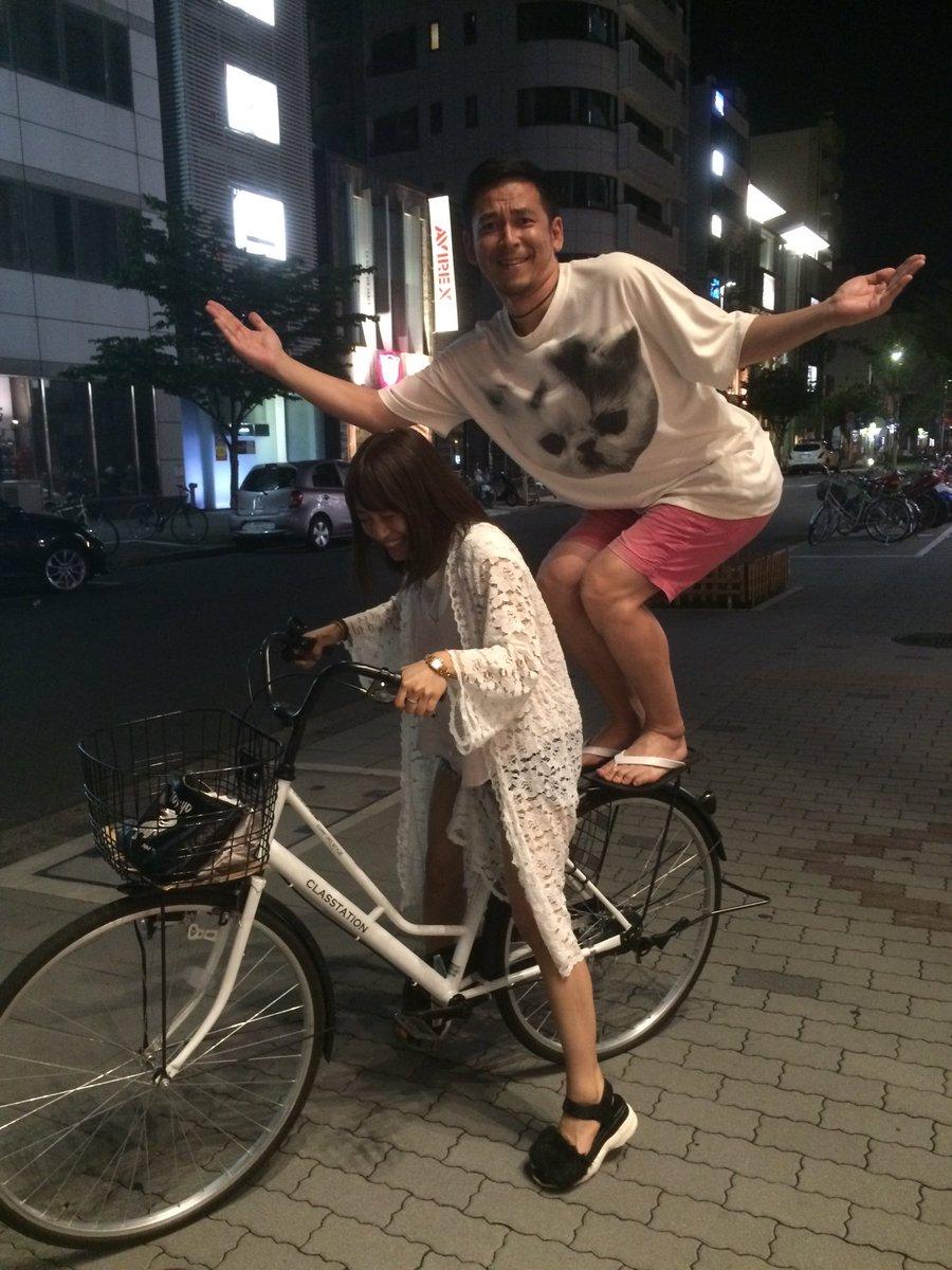 自転車二人乗り走行絶対ダメ啓発ポスター2016 https://t.co/6MOBLfyN4t
