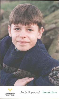20 years ago to the day, 4th July 1996 I made my debut on @emmerdale as 'Andy Hopwood' I've loved every minute