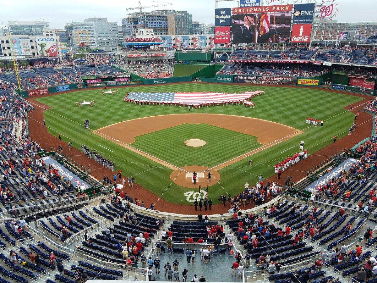 This is #July4th in our nation's capital. @Nationals #SAICpatriotic https://t.co/cscTV9hLvt