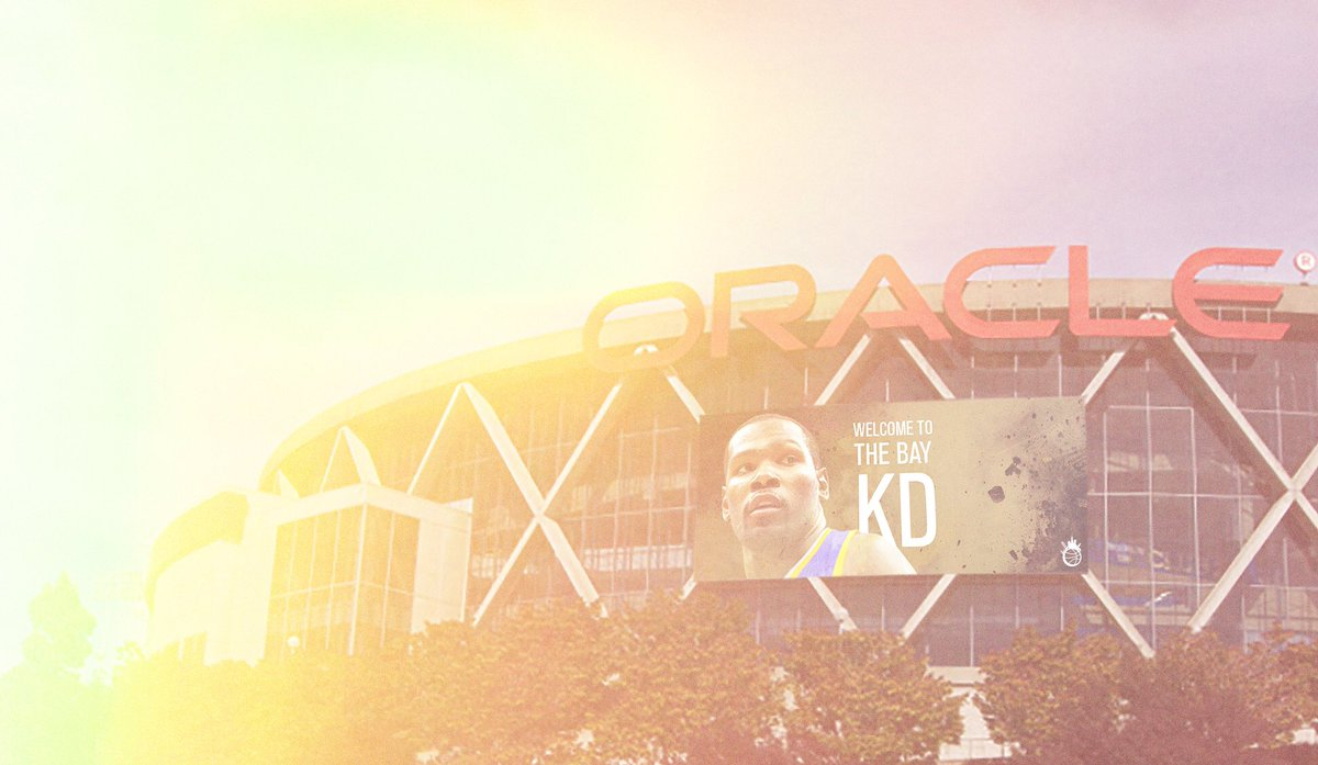 Live look at Oracle @KDTrey5 https://t.co/w4cbqpjMAX