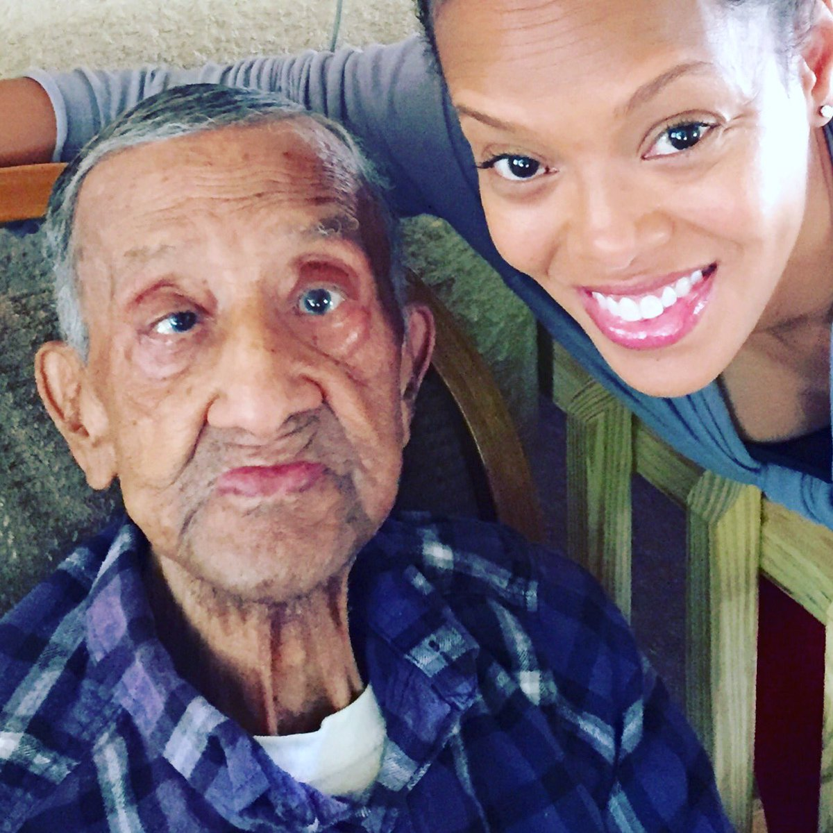 My handsome #grandfather wants you all to know that he will be 106 years old on August 6, 2016! #centenarian https://t.co/NN2NcJu7xn