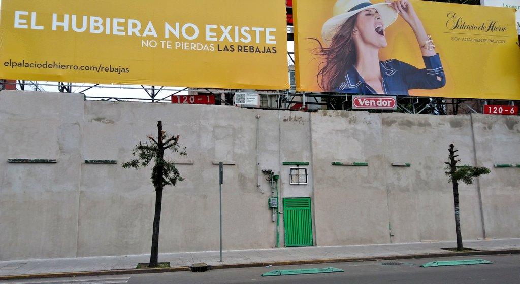 Rebajas de Árboles #ElHubieraNoExiste @palaciodehierro #ecocida ¿Me ayudan con un RT para clausura de este anuncio? https://t.co/TLCXsShzRN