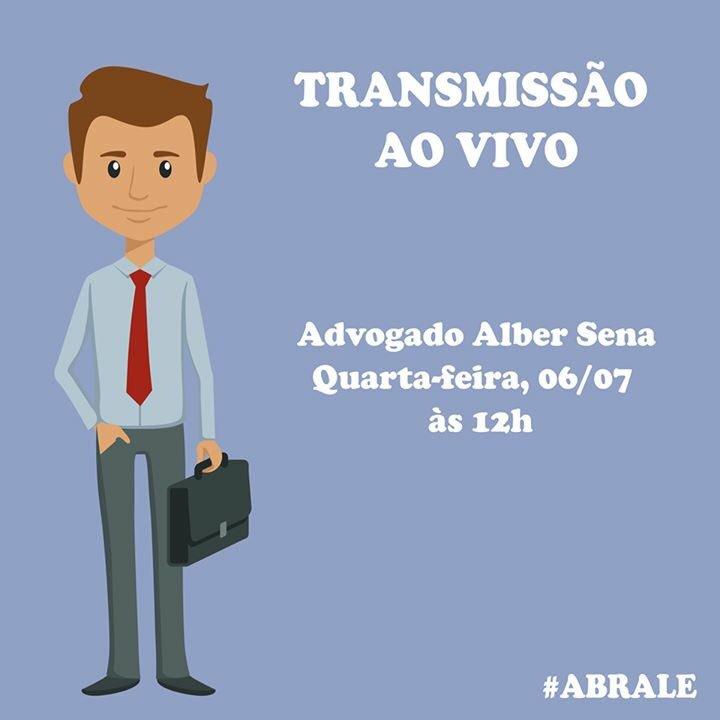 Transmissão ao vivo no nosso Facebook com o advogado da ABRALE para esclarecer os direitos dos pacientes! https://t.co/Fj6g72A9o0