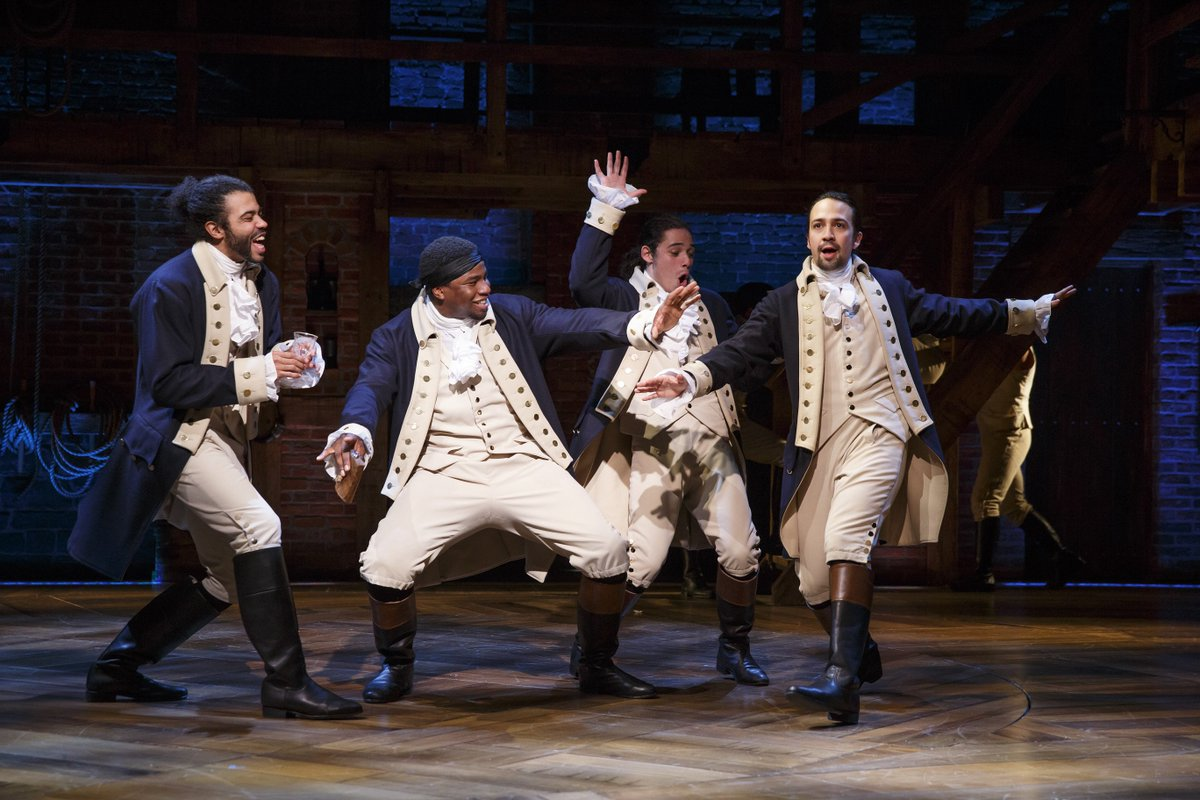 """Raise a glass to #freedom, something they can never take away. No matter what they tell you."" - @HamiltonMusical https://t.co/PdcfcLfTFE"