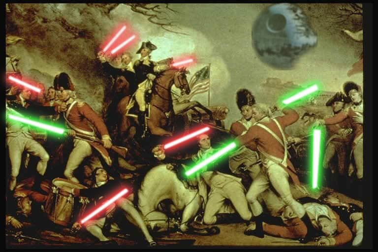 Rare color photograph from the revolution. #IndependenceDay https://t.co/1I15yjBKb0