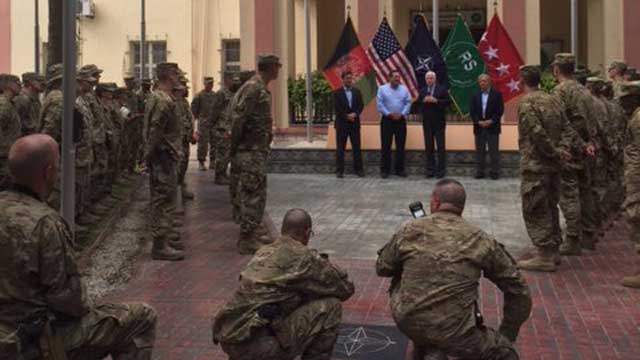 McCain celebrates Independence Day with American troops in Afghanistan @SenJohnMcCain https://t.co/4uFshEtCmS https://t.co/uMND0C3jNP