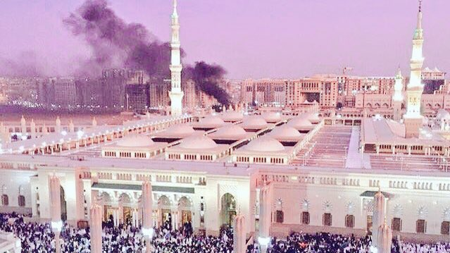 The Holiest city bombed in the Holiest month. Heart is broken #PrayForMadinah https://t.co/5d7iP1ncOn