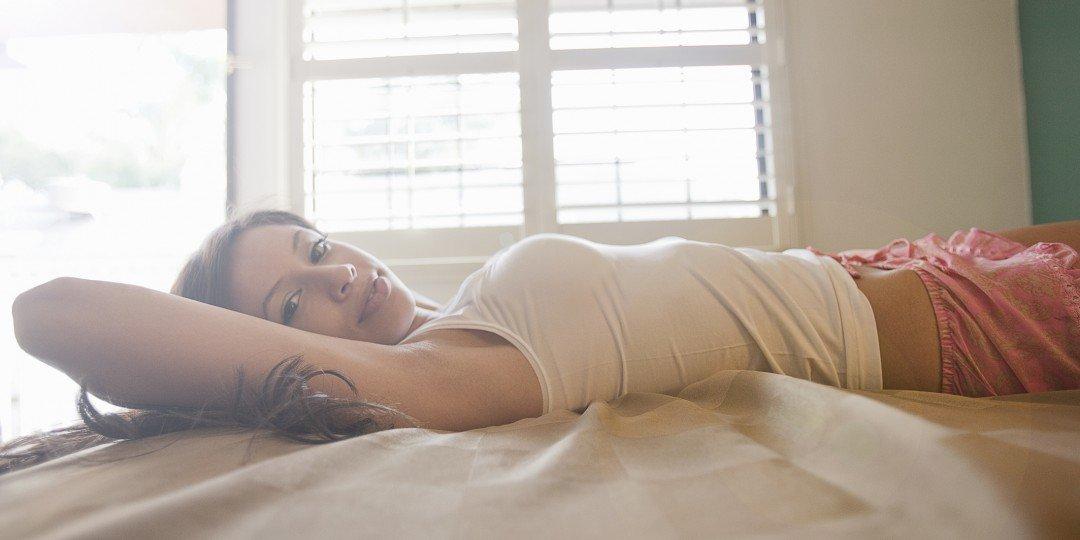 Pleasing her in bed