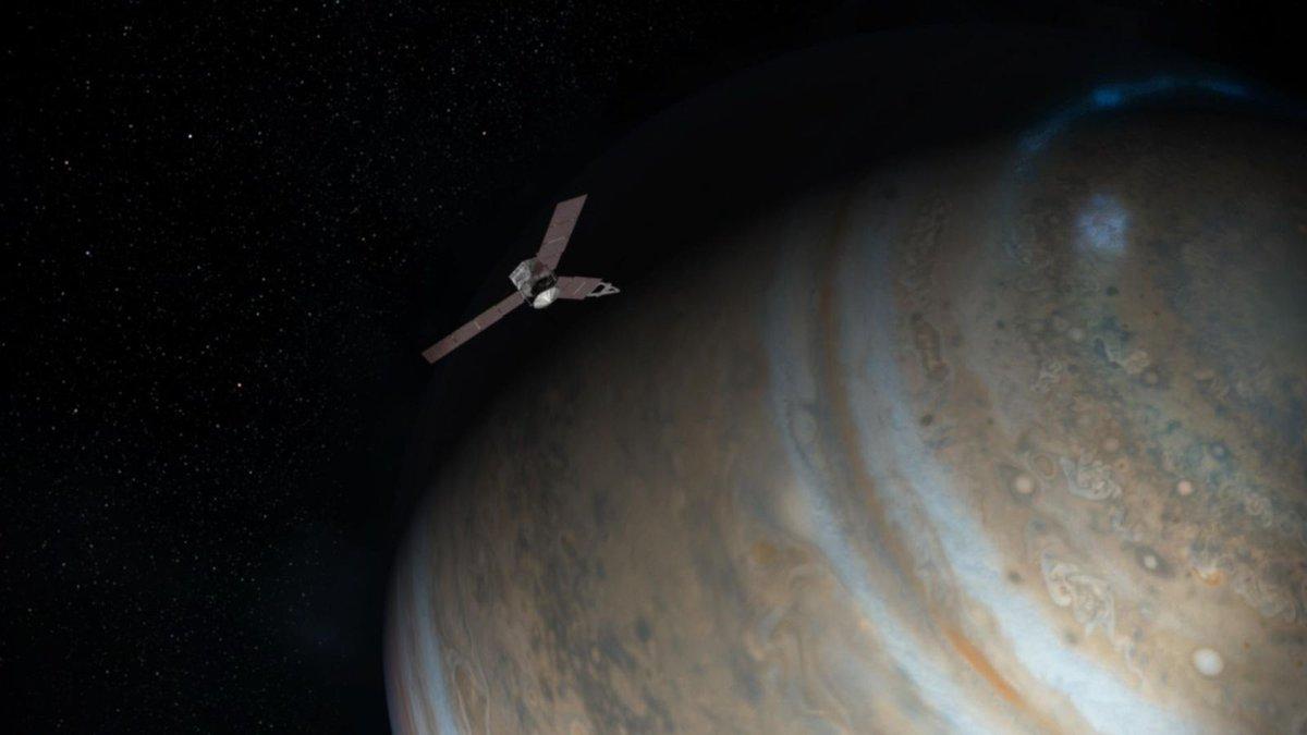 If intense radiation weren't bad enough, Juno has Jupiter's rings of debris to worry about https://t.co/dse8Qxhbc4 https://t.co/0LgeOgo7kx