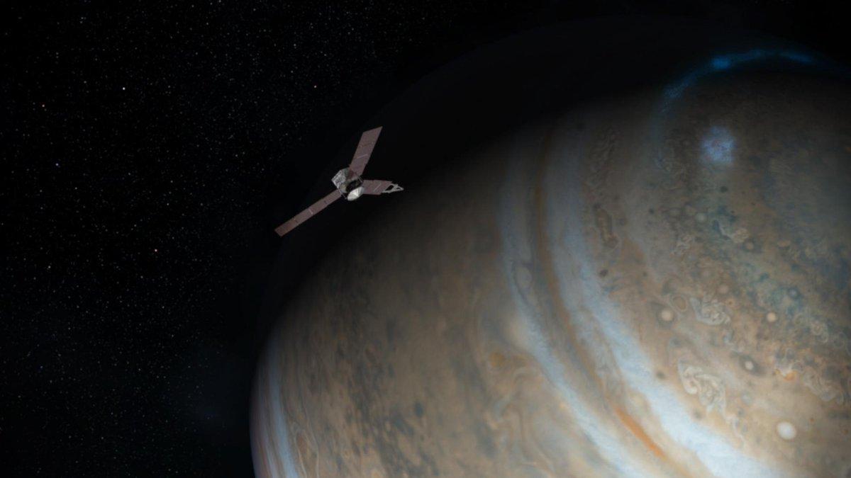 Engine shutdown! Juno's maneuver to enter orbit around Jupiter confirmed complete on time. https://t.co/uDw0UtIRPP https://t.co/wfhpYa8ScB