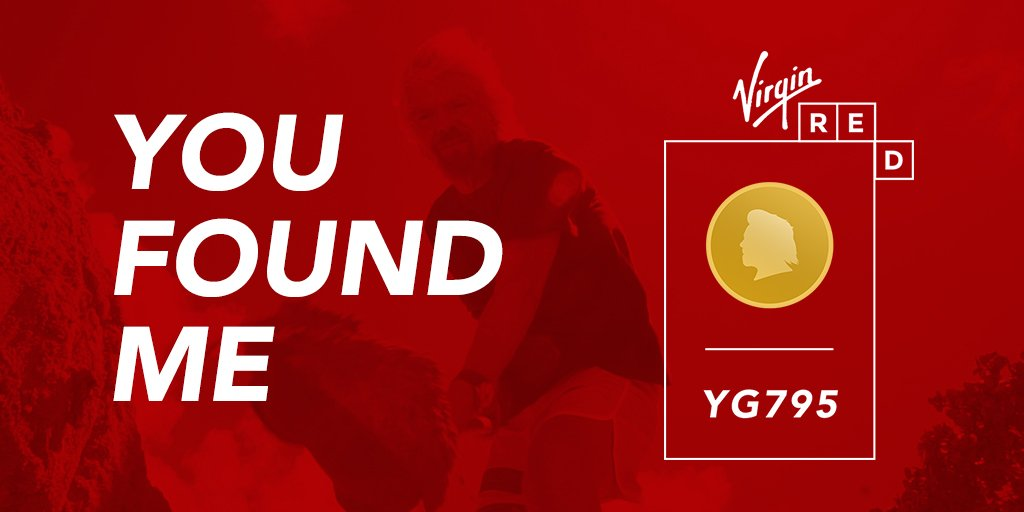 You Found Me! Win a trip to Necker Island with @VirginRed. T&C's apply