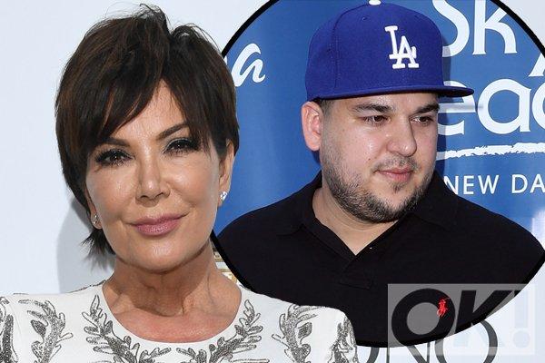 Kris Jenner reveals she cried herself to sleep over Rob Kardashian: