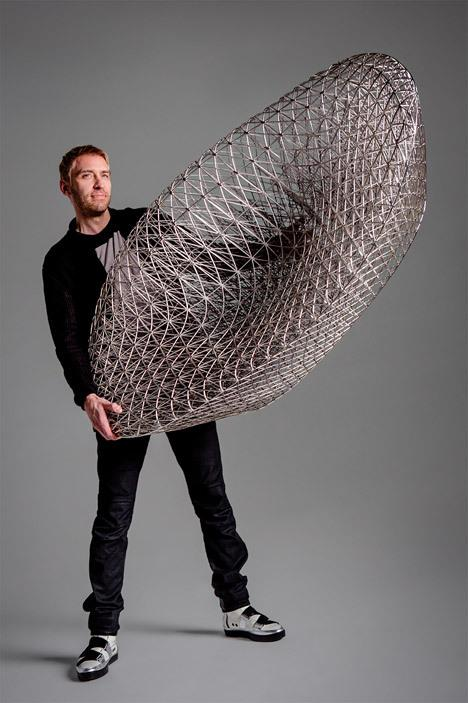 For The Sofa So Good Janne has used the structures of spiderwebs and silkworm cocoons as inspiration! #3dprinting https://t.co/M4TWHHDyaM