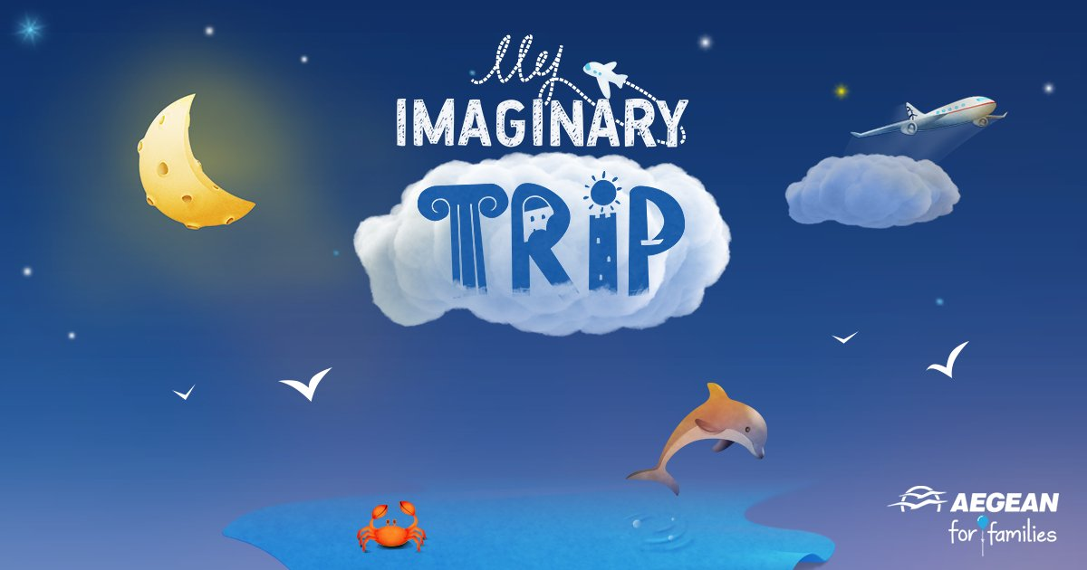 Draw with your little ones the Greek city they dream to travel &take the chance to visit it!