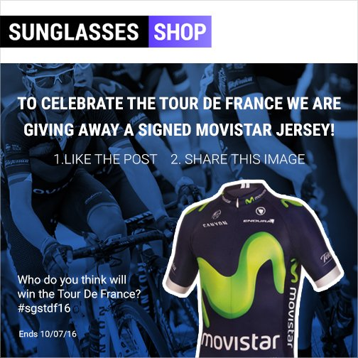 WIN a #TDF signed jersey by the Movistar team & sponsored by Adidas - like, comment and re-tweet #WIN #adidas #comp https://t.co/6XGV6Of4Fd