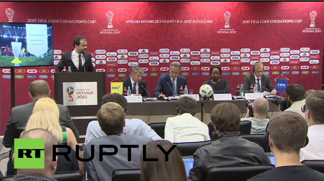 WATCH LIVE: FIFA news conference on 2018 World Cup preparations