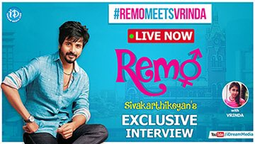 An interview as dramatic, funny & emotional like a @Siva_Kartikeyan's film #RemoMeetsVrinda https://t.co/3eQtycABeT https://t.co/5QW3GCue8r