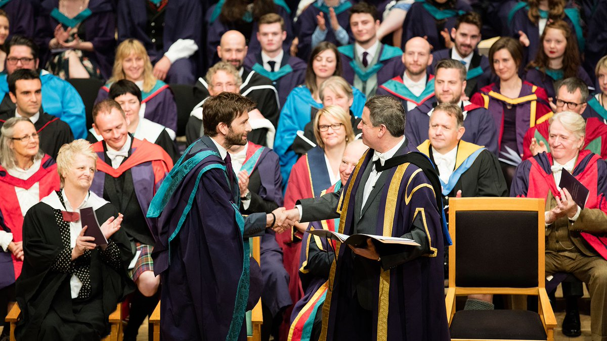 Congratulations to Doctor David Tennant and all of our graduating students. #rcsgraduation https://t.co/5zP0kqQR5z