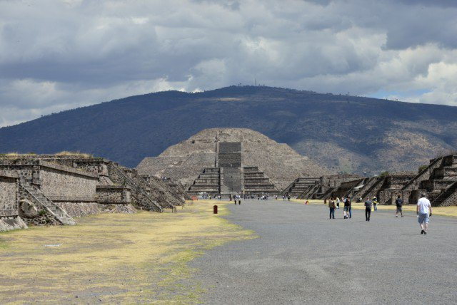 The pre-Columbian majesty of Teotihuacán, outside Mexico City: