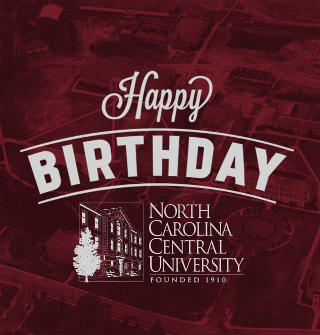Today, #NCCU celebrates 106 years of Eagle Excellence! https://t.co/dyi1GIWzr3