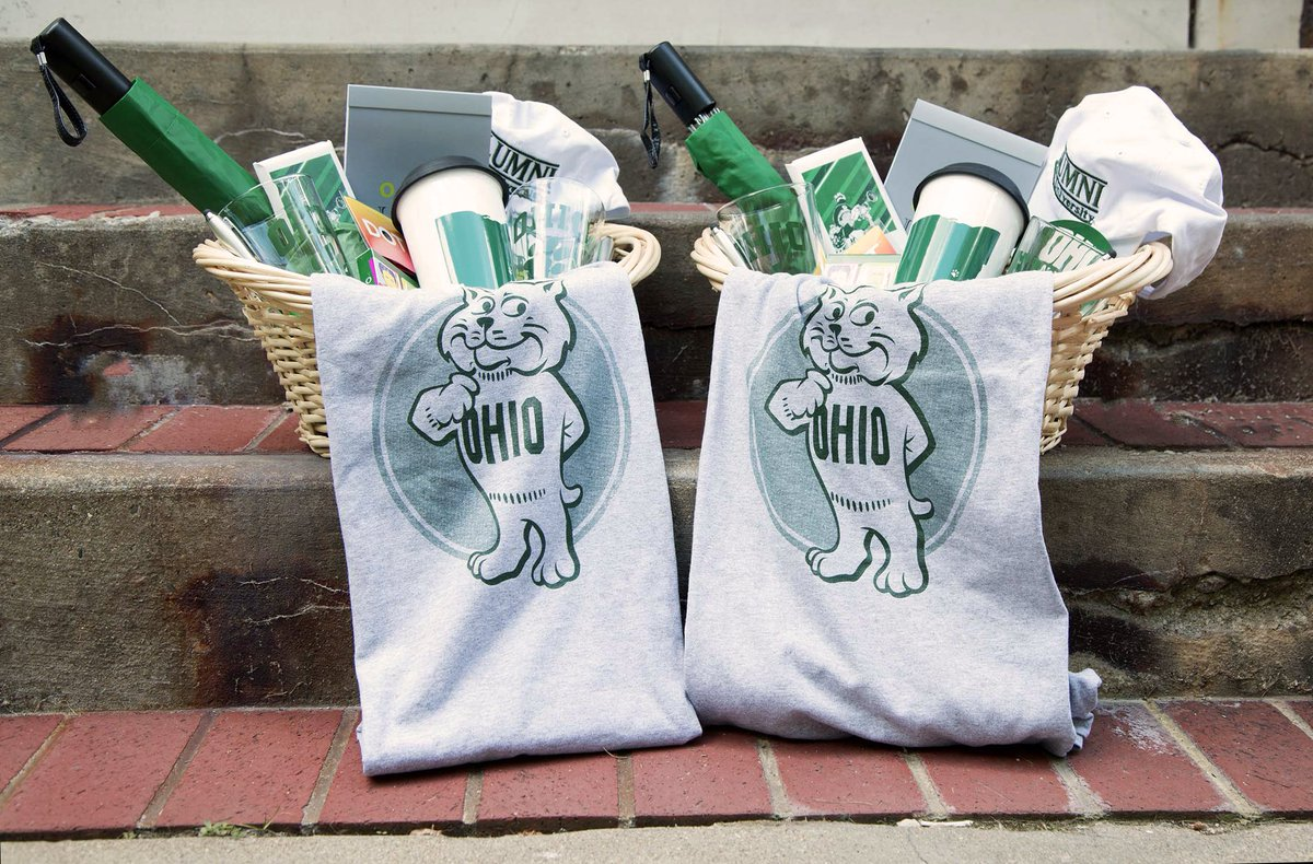 Stay connected to @ohiou by updating your info here https://t.co/8XRpMmi8Q8 for a chance to win an OHIO gift basket! https://t.co/akthQ4nt2N
