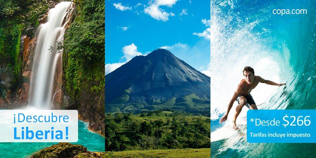 Panamá Aprovecha este descuento y viaja Liberia. Compra tu boleto YA --->
