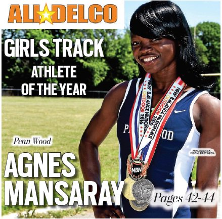 Penn Wood's Agnes Mansaray is the All-Delco Girls Track Athlete of the Year.  https://t.co/UoBQ6tDX1d https://t.co/sTco3D9dMo