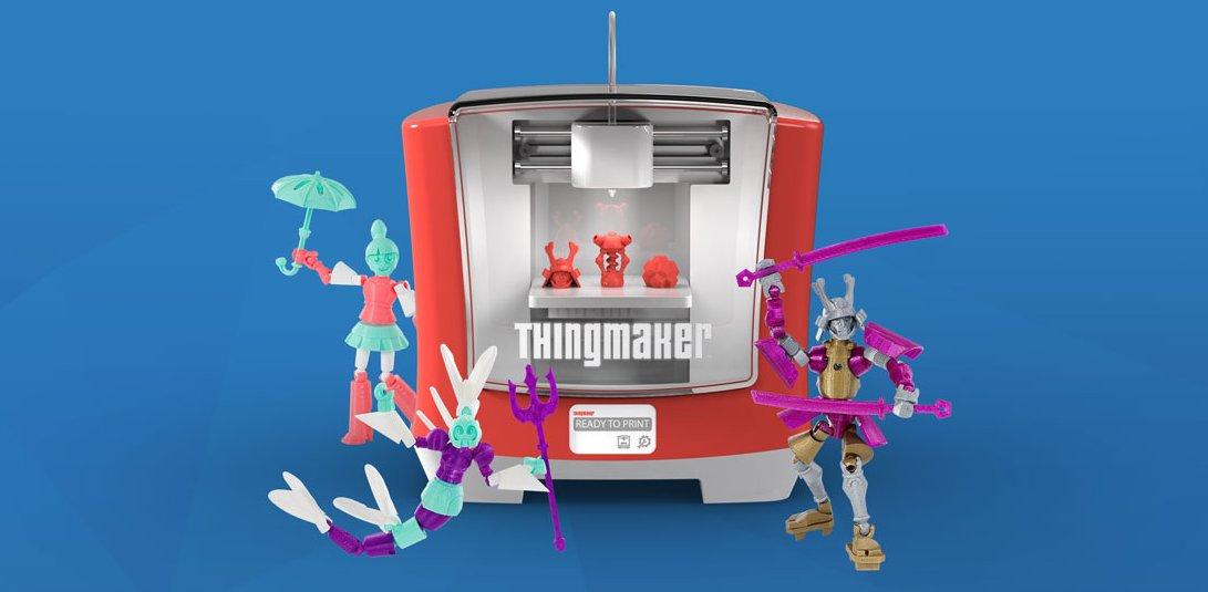 Si lo podes pensar, lo podes crear. Una impresora 3D para que los chicos hagan sus juguetes https://t.co/TntnPQgqd3 https://t.co/J9npWYfj5i