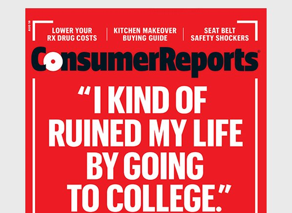 On the cover of the new Consumer Reports: https://t.co/edPAzsaUuw https://t.co/LgsBrBLLZw