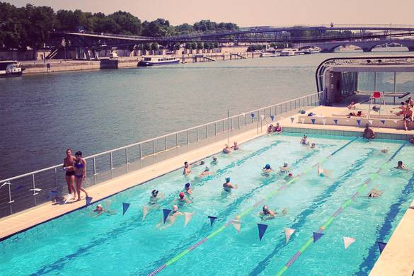RT @NewYorkHabitat: @CheapOair A3: That Paris has some really cool swimming pools in the city!