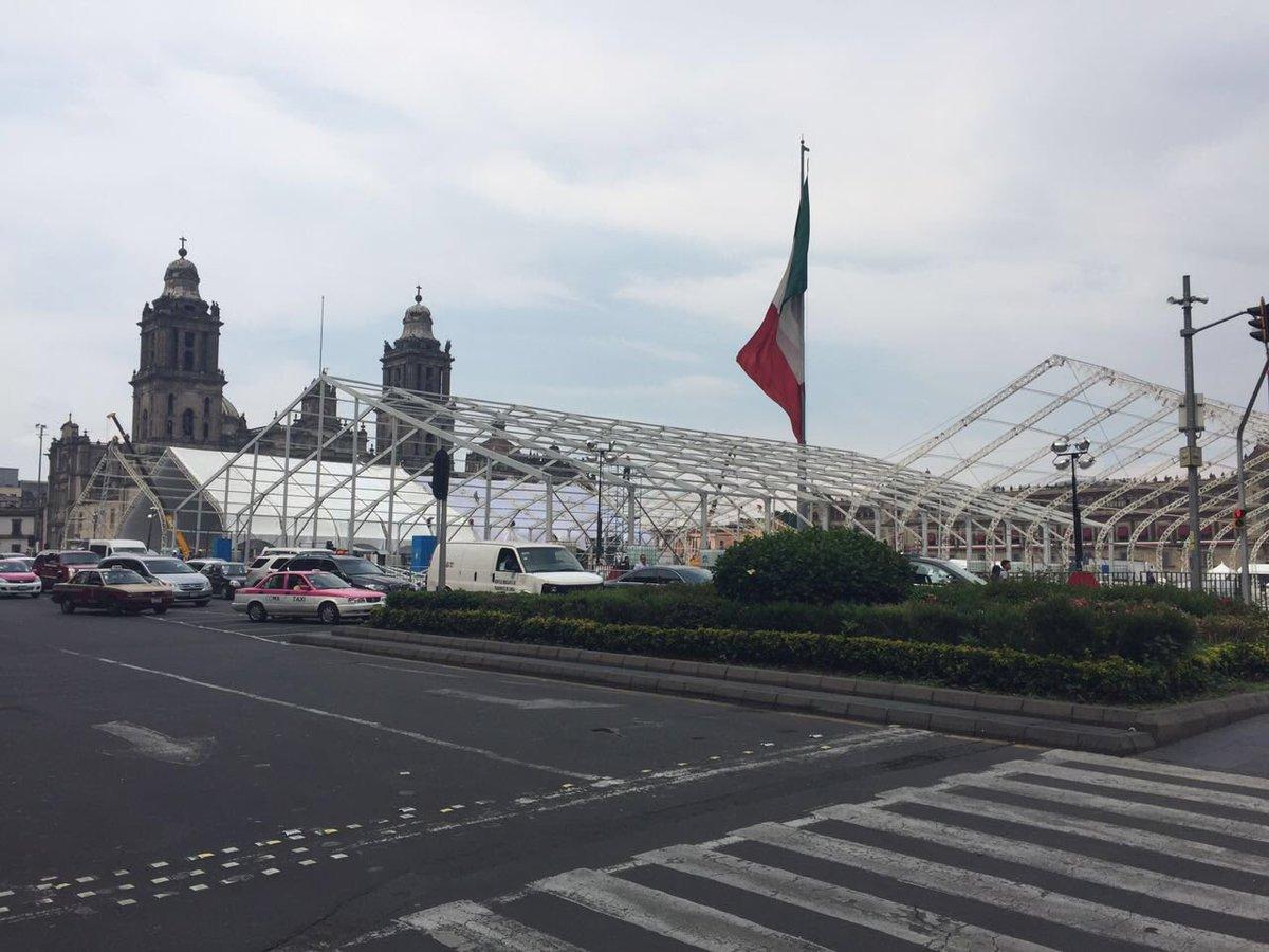 Avanza @Telmex en instalación de #AldeaDigital @Telcel @infinitum en Zócalo #CDMX Del 15 de julio al 5 de agosto https://t.co/HHfTe5cmI8