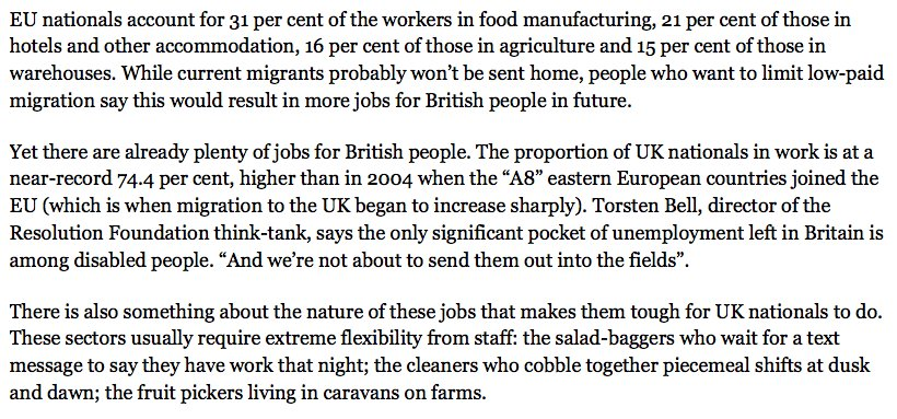 Great @sarahoconnor_ column on Brexit and low-skilled immigration: https://t.co/oqFupluZc6 https://t.co/FhCBZBdQQj