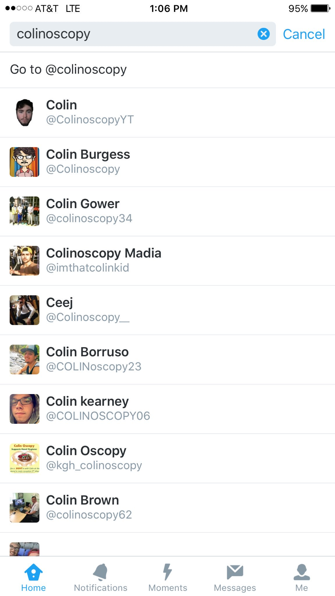 Shoutout to all the very funny guys named Colin on here! Y'all crazy! https://t.co/3lsafLY92N