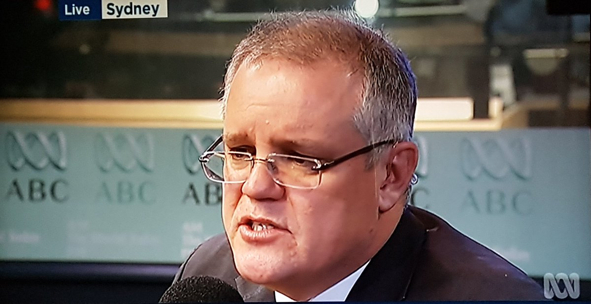 "Morrison refuses to budge on unfreezing GP rebates or the LNPs other cuts. #SaveMedicare wasn't a ""scare"".   #AUSpol https://t.co/GEIZITV0i5"