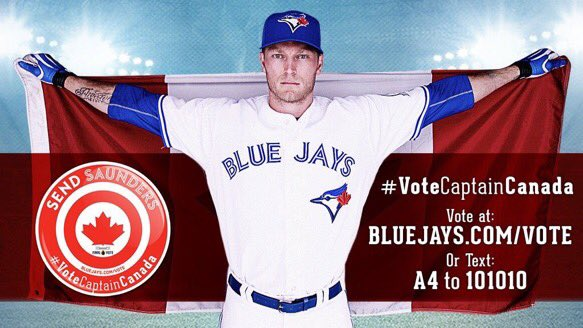 Let go Canada..you know the drill let get this guy to the all star. #VoteCaptainCanada