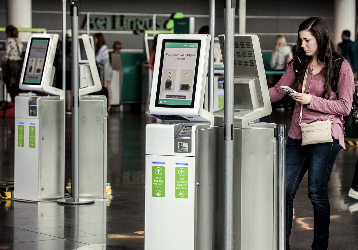 .@DublinAirport invests €2m in new self-service check-in kiosks in T1 & T2
