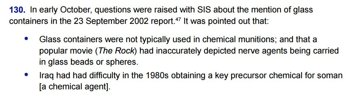 According to #Chilcot, MI6 got some of its evidence about Iraq's chemical weapons from Nicolas Cage. https://t.co/FqfMgQQ2Av