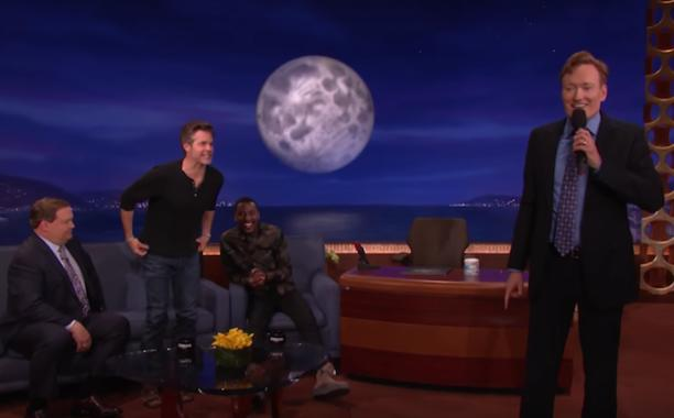 Conan O'Brien and Timothy Olyphant prove