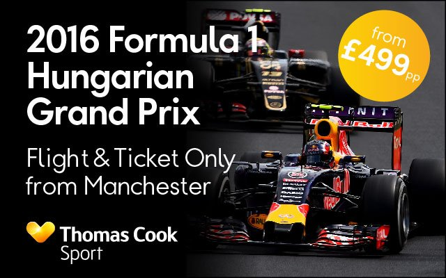 Check out these great offers for the F1 Hungarian Grand Prix with @TCsport Thomas Cook Sport
