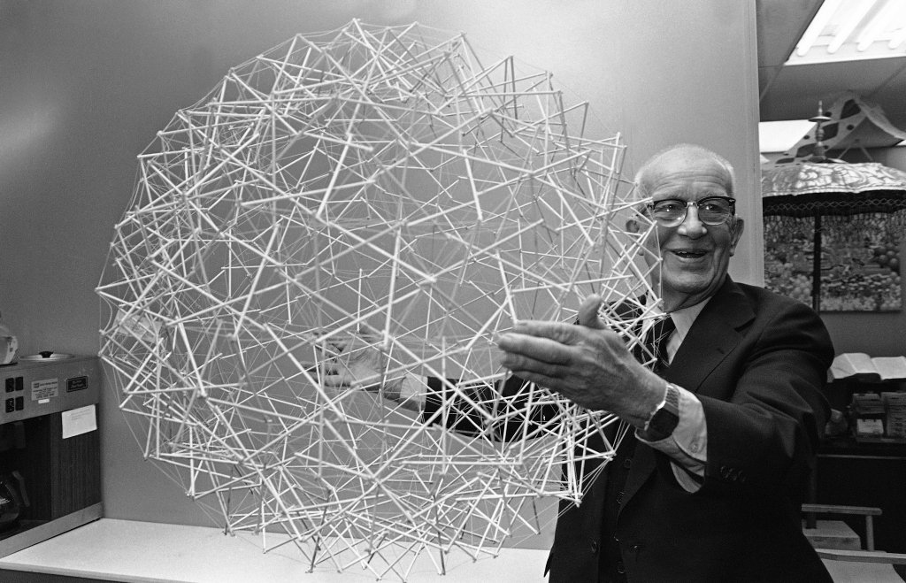 'We are called to be architects of the future, not its victims.' - R. Buckminster Fuller was born #onthisday in 1895 https://t.co/Zlf0mxYr4w