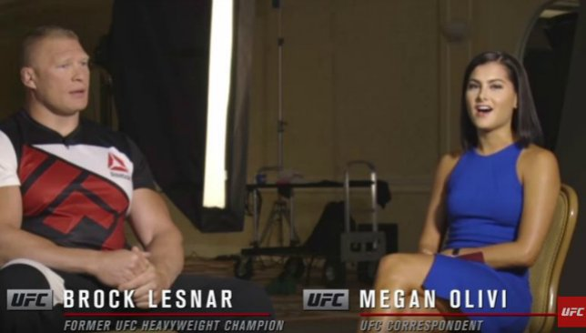 VIDEO: @BrockLesnar cuts confident figure ahead of #UFC200. But where was @HeymanHustle? https://t.co/OZxmDIO7aM https://t.co/iVwnneDiNg