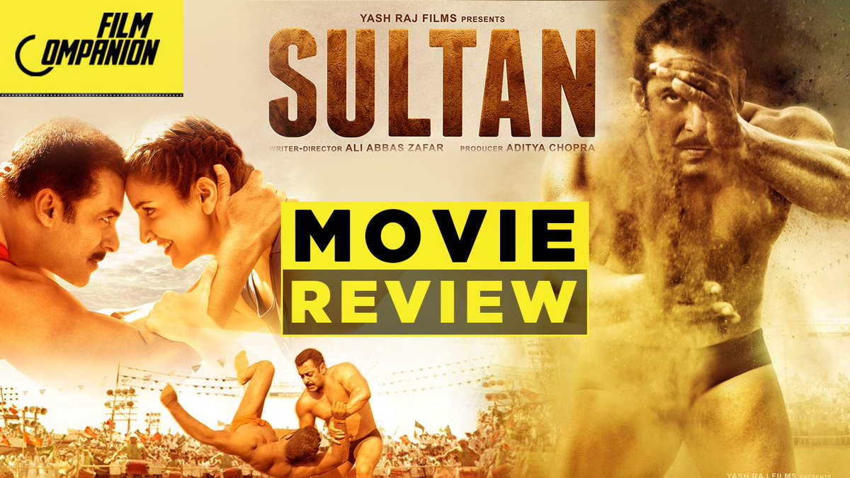 When #Sultan ended, I had moist eyes and a big grin. My review : https://t.co/KLrKIcjEDg #FilmCompanion https://t.co/kv2F0RsEWq