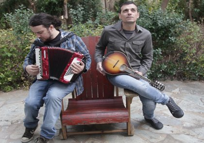 Nothing like a summer concert in the Concert Hall Garden. Enjoy M. Famellos & St. Drogosis!
